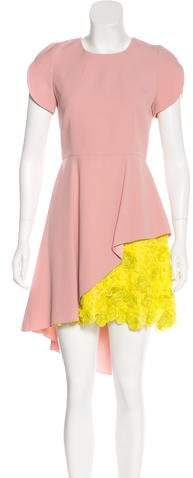 Andrew Gn Layered High-Low Dress