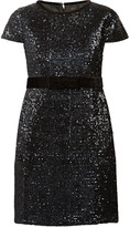 Maje Ketsia sequined mini dress