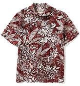 Tommy Bahama Short-Sleeve Brazilia Batik Floral Print Woven Shirt