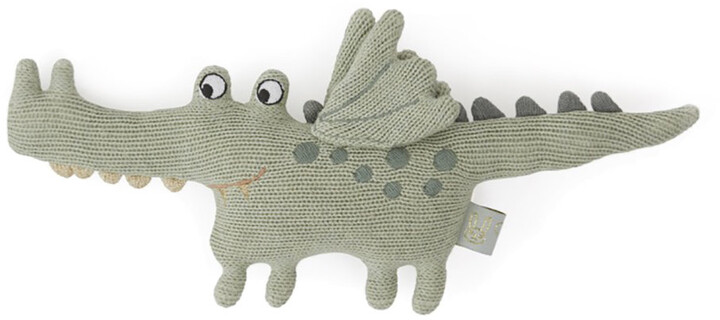 Thumbnail for your product : OYOY - Darling Rattle - Baby Buddy Crocodile - Green