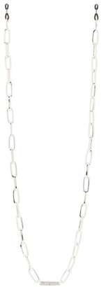 Frame Chain - Thick-link Glasses Chain - Womens - Silver
