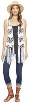 Steve Madden Crochet Clover Vest Women's Vest