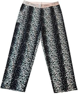 KENDALL + KYLIE Multicolour Cotton Trousers for Women