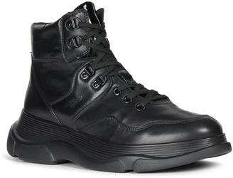 Geox Macaone 5 Tonal Napa High-Top Sneakers