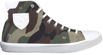 Saint Laurent Bedford Camouflage High Top Sneakers