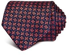 Eton Floral Medallion Silk Classic Tie