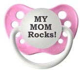 Personalized Pacifiers Personalized Pacifier - Stud Muffin/Light Blue - 6 - 18 Months