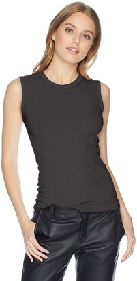 Enza Costa Women's Fitted Muscle Tank