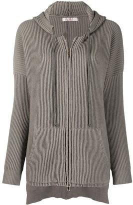 Liska Zipped Cashmere Cardigan