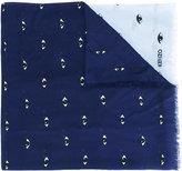 Kenzo Eyes scarf - men - Modal/Silk - One Size