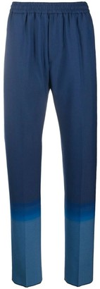 Givenchy Blue Gradient Formal Jogger Pants