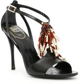 Roger Vivier Multicolor Fringe Sandals