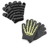 Class Club Boys Skeleton Gripper Gloves