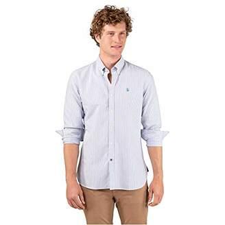 El ganso Men's 1 Casual Shirt,X-Large