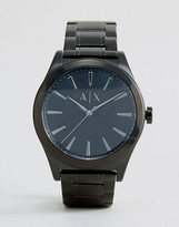 Armani Exchange Stainless Steel Watch In Black Ax2322