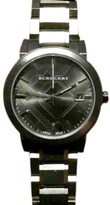Burberry BU9007 Grey Ion-Tone Stainless Steel Grey Dial 38mm Watch