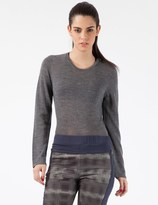 Stolen Girlfriends Club Grey Mean-Reno Crop Knit Top