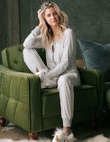 COSMIC LOVE Jersey Stripe Womens PJ Onesie