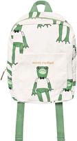 Mini Rodini Green Frog Backpack