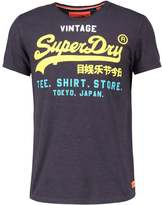 Superdry Print Tshirt Midnight Marl