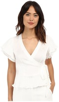 Nanette Lepore Two-Step Wrap Top