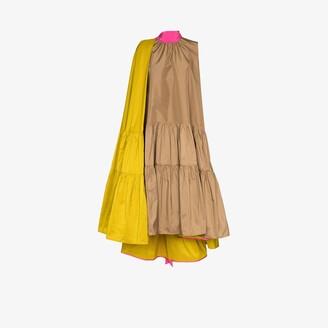 Roksanda Ludmila sleeveless tiered dress