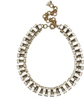 Sole Society Oversize Deco Statement Necklace