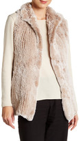 Dena Genuine Rabbit Fur Vest