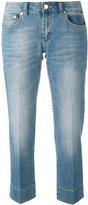 MICHAEL Michael Kors stonewashed cropped jeans - women - Cotton/Spandex/Elastane - 0