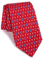Vineyard Vines 'Philadelphia Phillies - MLB' Print Silk Tie