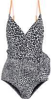Stella McCartney Printed Belted Swimsuit