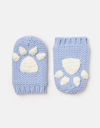 Joules Paws Pawprint Mittens