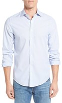 Gant Men's Trim Fit Stripe Broadcloth Sport Shirt