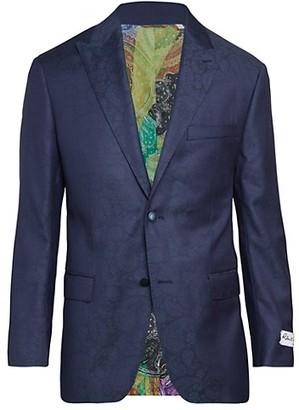 Robert Graham Tonal Paisley Wool Silk Jacket