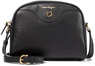 Salvatore Ferragamo Travel CC leather camera bag