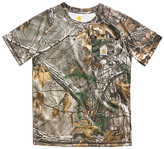 Carhartt Green Realtree XtraTM Force Camo Pocket Tee - Boys