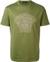 Versace microstudded Medusa Head T-shirt - men - Cotton - L