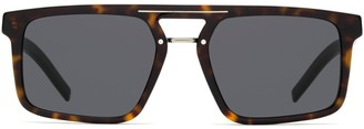 Christian Dior Rectangular Frame Sunglasses