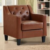 Linon Tufted Accent Arm Chair