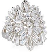 Fallon Monarch Deco Medallion Ring, Size 7