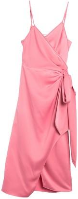 Diane von Furstenberg Avila Sleeveless Wrap Midi Dress