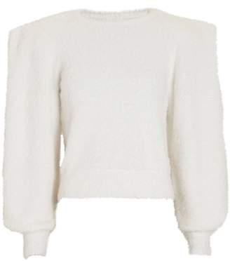 Ronny Kobo Carina Structured Crewneck Sweater