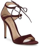 Gianvito Rossi Women's Suede Stiletto Heel Sandals