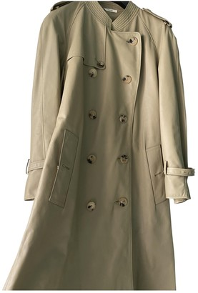 Celine Grey Leather Coat for Women