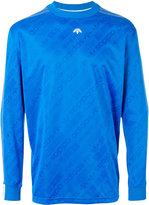 Adidas Originals By Alexander Wang - soccer long sleeved T-shirt - unisex - Polyester - S