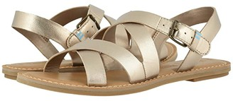 Toms Sicily (Tan Leather) Women's Sandals