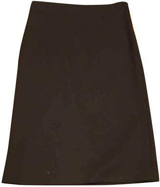 Brunello Cucinelli Brown Wool Skirt for Women