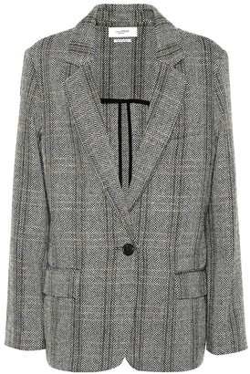 Etoile Isabel Marant Charly checked wool blazer
