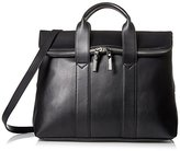 Steve Madden Women's Foldover Satchel in Black