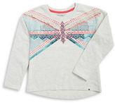 Lucky Brand Girls 7-16 Geometric Fringe Pullover